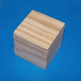 40 Cubos De Madeira Em Pinus De 2,5x2,5x2,5 Cm
