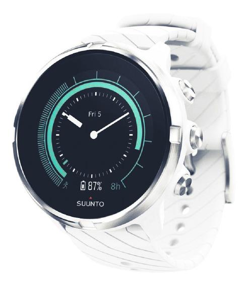 Relogio Smartwatch Suunto 9 Branco Wrist Hr (caixa Lacrada)