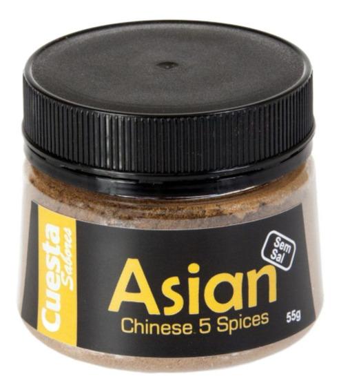 Tempero Chinês Asian 5 Especiarias - 5 Spices