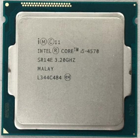 Core I5 4570 Lga Socket 1150 3.4g Oem Testado Com Garantia