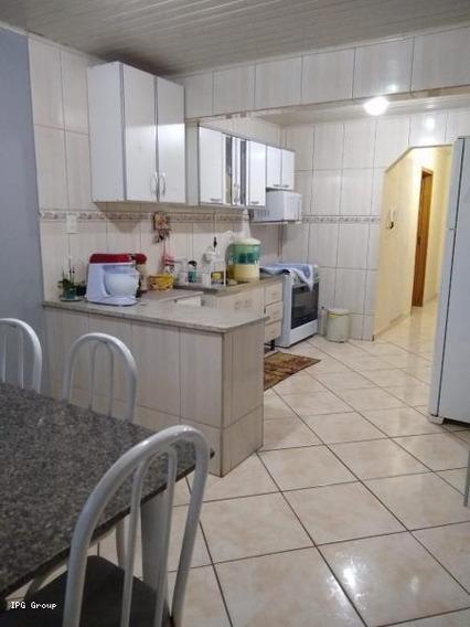 Casa Para Venda Em Ponta Grossa, Santa Paula, 3 Dormitórios, 1 Suíte - Lf0207