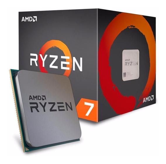 Processador Ryzen 7 1700x 3.4ghz / 3.8ghz Am4 Yd170xbcaewof