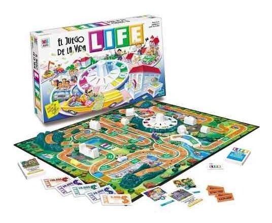 Life El Juego De La Vida Juegos De Mesa Hasbro Original