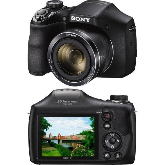 Câmera Digital Sony Dsc-h300 20.1mp Zoom 35x,hd, Panorâmica