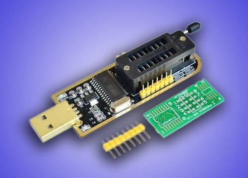 10x Programador Gravador Eprom Ch341a Flash Spi Bios - Usb