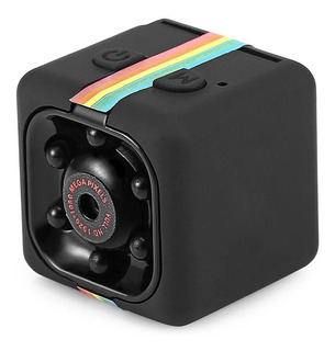 Mini Camera Sq11 Hd Visão Noturna E Sensor De Movimento