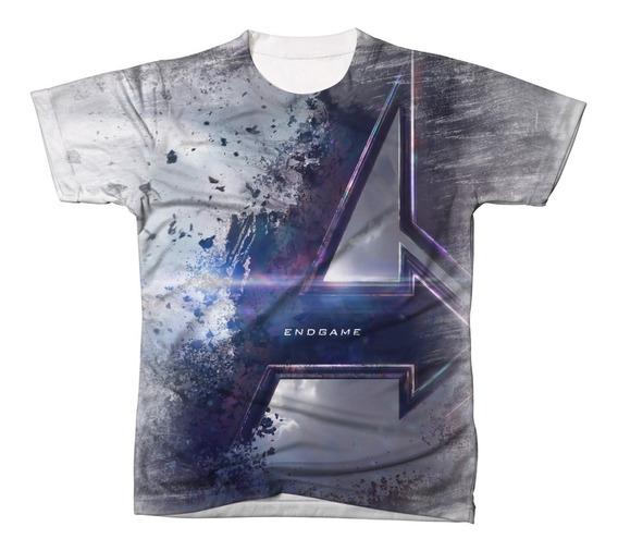 Camiseta Camisa Blusa Os Vingadores Ultimato 015