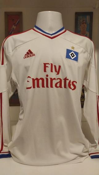 Camisa Futebol Hamburgo 2011 Mangas Longas