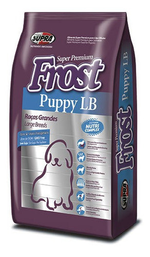 Frost Cachorro Raza Grande 15+2kg + Regalo