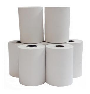 100 Rollos Papel Térmico Posnet 57x20 Shure Papers