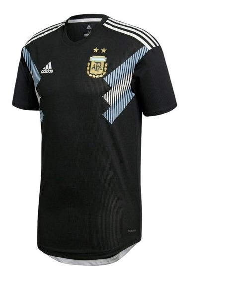 Camiseta Selección Argentina Suplente Negra 2018 Envio Grati