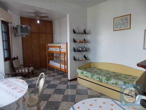 Kitnet Com 1 Dormitório À Venda, 40 M² Por R$ 191.000,00 - Itararé - São Vicente/sp - Kn0715