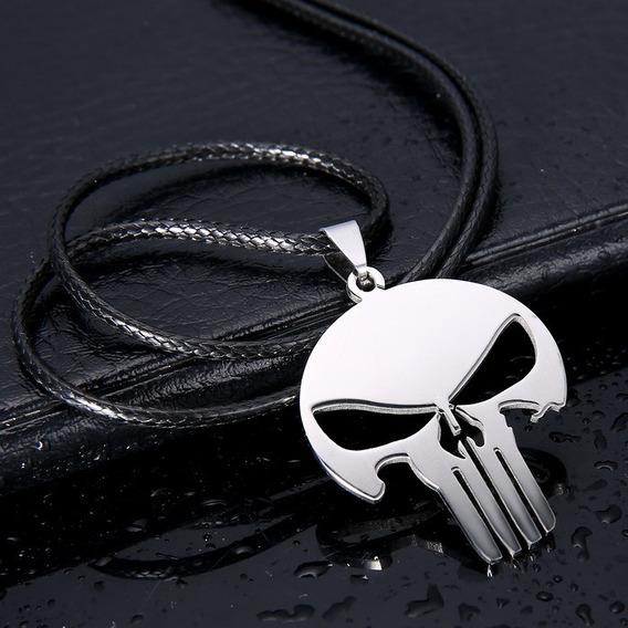 Cordão Colar O Justiceiro Punisher Marvel ! ! !