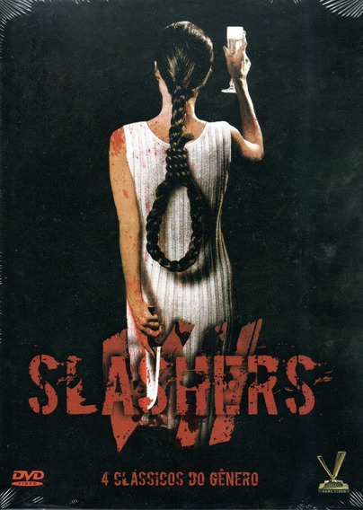 Dvd Box Slashers Vol 7 C/cards - Versatil - Bonellihq R20