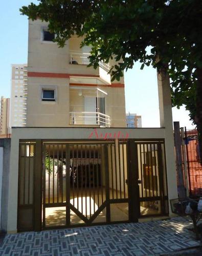 Apartamento Com 2 Dormitórios À Venda, 71 M² Por R$ 318.000,00 - Bangu - Santo André/sp - Ap1596