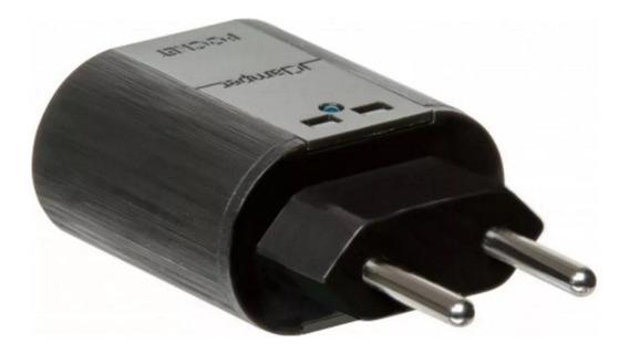 Dps - 1 Tomada - Iclamper Pocket 2p - Preto - 10193