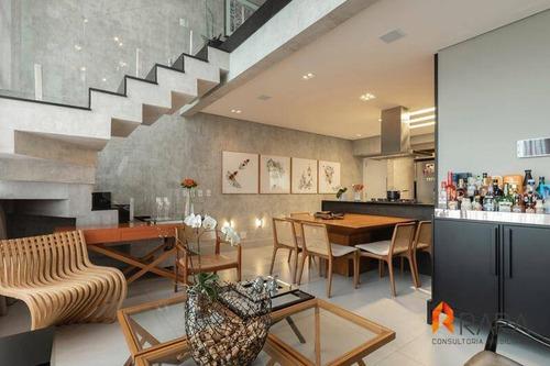 Imagem 1 de 30 de Belissima Cobertura Com 2 Dormitórios À Venda, 150 M² Por R$ 1.400.000 - Centro - São Bernardo Do Campo/sp - Co0017