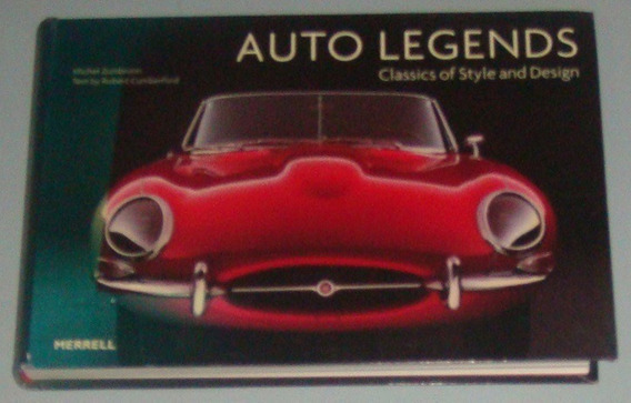 Carros - Livro Auto Legends Classic Of Style Design (inglês)