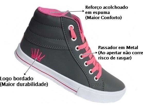 Tenis Bota Botinha Feminina Masculina Caminhada Exercic Cod5
