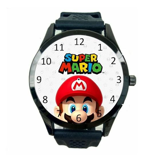 Relógio Super Mario Unissex Jogos Games De Pulso Novo T979