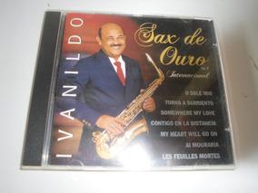 Cd Ivanildo Sax De Ouro Internacional Volume 7 Ano 1999