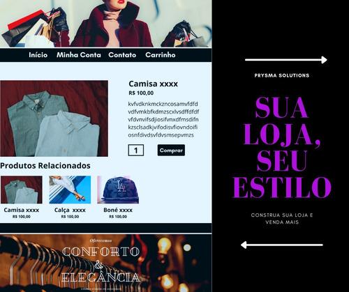 Imagem 1 de 7 de Criação De Sites E Lojas Virtuais. Arte Digital.