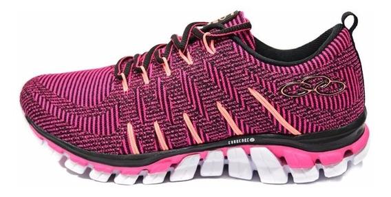 Zapatillas Olympikus Running Style Mujer Negro Combinado
