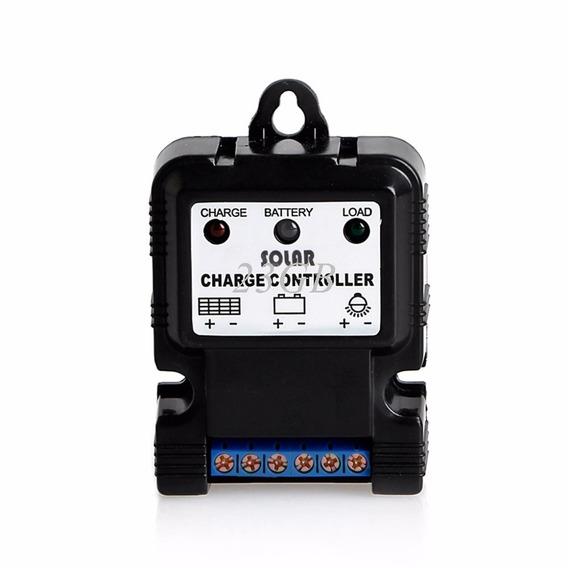 Controlador De Carga Para Painel Solar 10 Amperes 6v E 12v