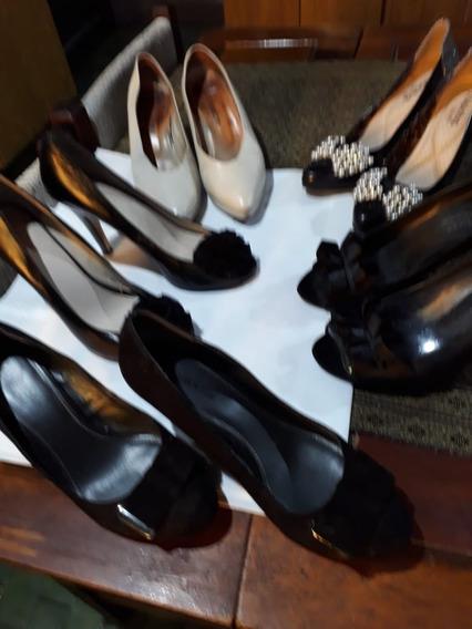 Zapatos De Mujer -- 3 Pares--