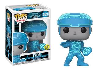 Funko Pop! Tron 489 Glows In The Dark! #funkonauta