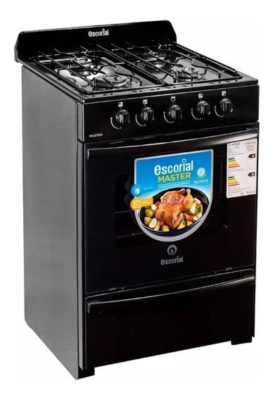 Cocina Multigas Escorial Master 56 Cm Modelo Nuevo Cuotas