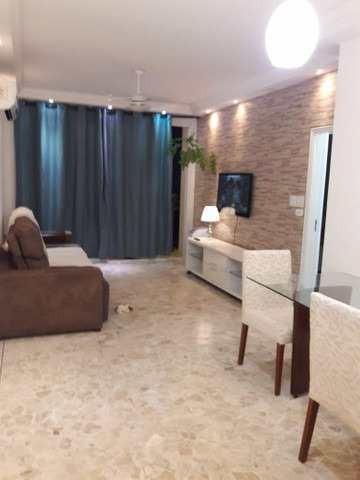 Apartamento Com 3 Dorms, Barra Funda, Guarujá, Cod: 612 - A612