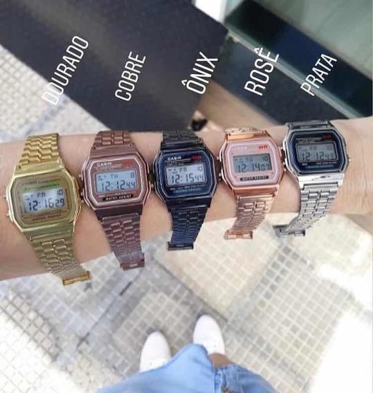 Relógio Cásio Vintage Atacado Unissex 10 Unidades