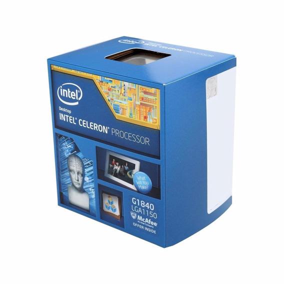 Processador Intel - Lga1150 / G1840 / 2.8ghz/2mb Box