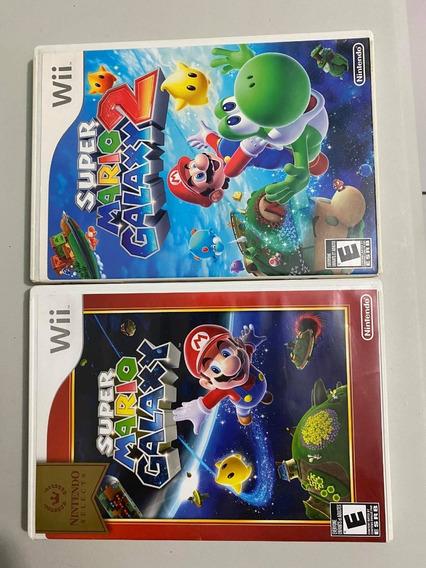 Mario Galaxy 1 E 2 Combo Nintendo Wii