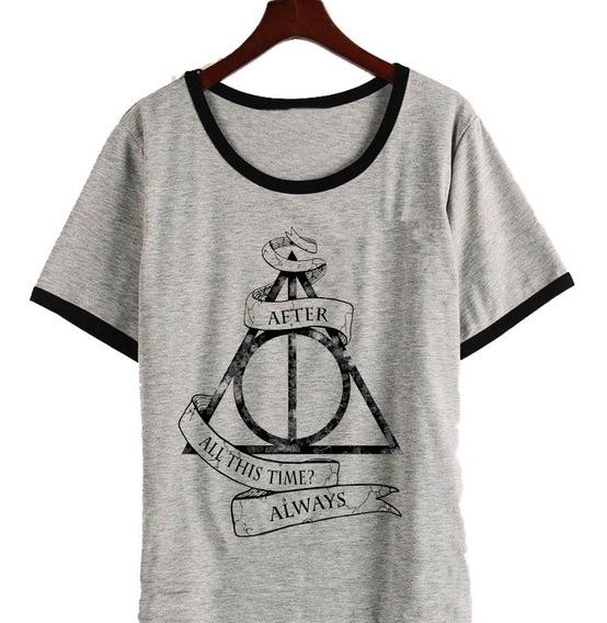 Remera Harry Potter Reliquias De La Muerte After Mujer
