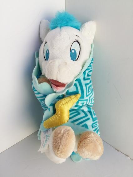 Pelucia Disney Babies Hercules Pegasus Cavalo Voador + Manta