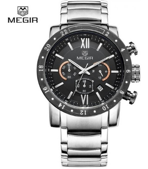 Relógio Masculino Megir 3008 Original Luxo Prova D