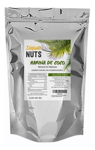 Imagen 1 de 10 de Harina De Coco 1kg Cetogénica Keto Excelente Calidad Premium