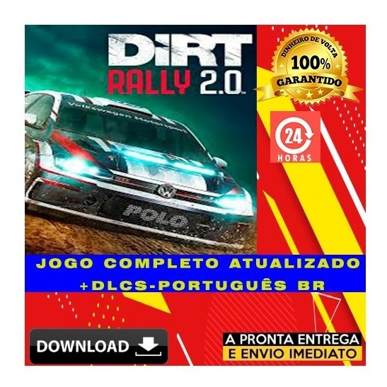 Dirt Rally 2.0 Game Of The Year Edition - Pc + Brinde