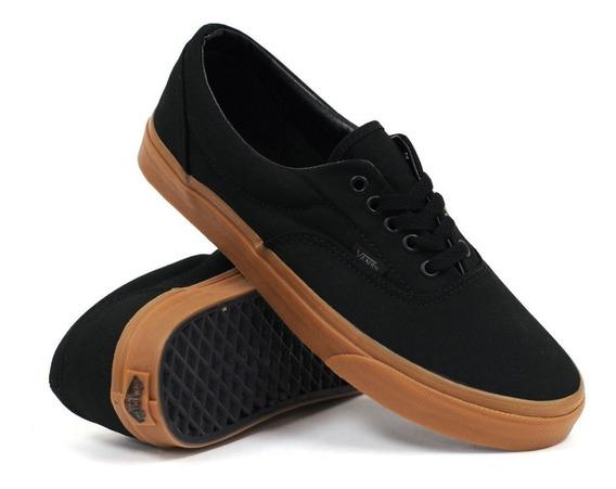 Tenis Vans Black Classic Gum Originales Unisex Era