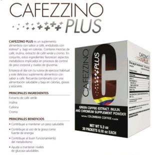 Cafezzino Plus - Quemador De Grasas - Productos Omnilife