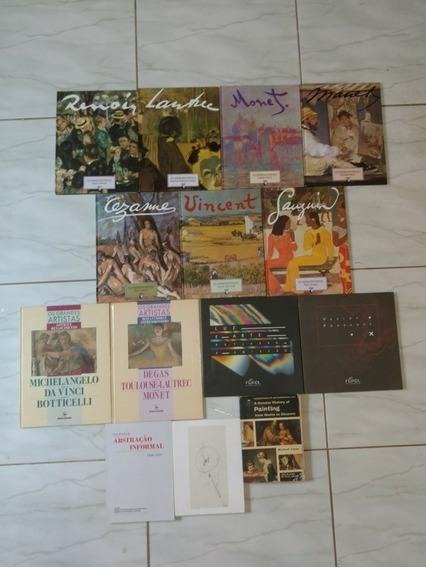Lote 14 Livros De Arte Raros E Clássicos Frete Grátis