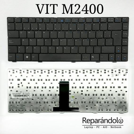 Teclado Laptop M2400 Negra M2420 Solo Nuevos