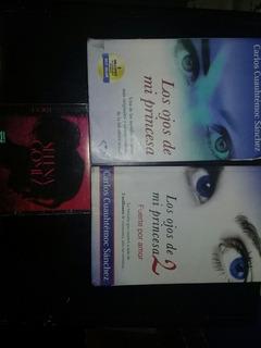 2 Libros(los Ojos De Mi Princesa 1,2) Y Cd (for You Selena)