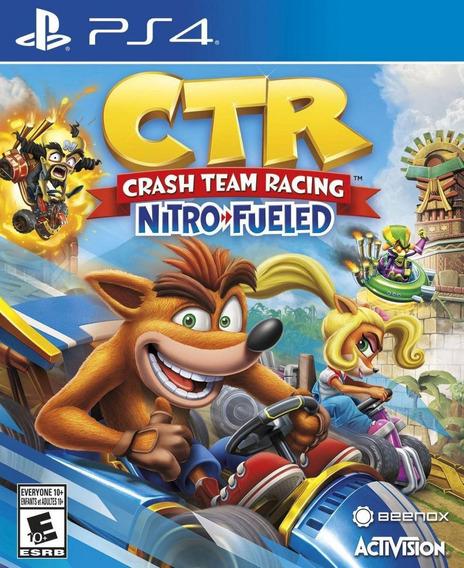 Crash Team Racing Ps4!!! Nuevo Sellado!!!