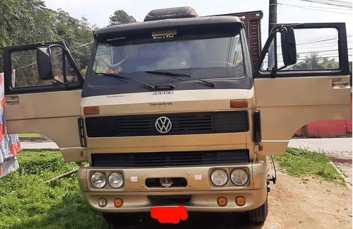 Imagem 1 de 8 de Caminhão Vw 14.210 1988 Motor Cummins, Ótimo Estado.