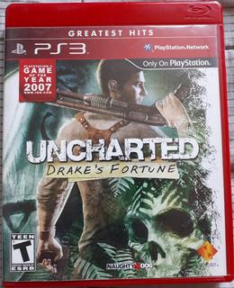 Juego Ps3: Uncharted Drake