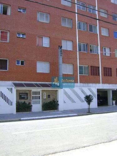 Imagem 1 de 14 de Apartamento Com 1 Dormitório À Venda, 45 M² Por R$ 180.000 - Boqueirão - Praia Grande/sp-p1b35ap- - Ap0594