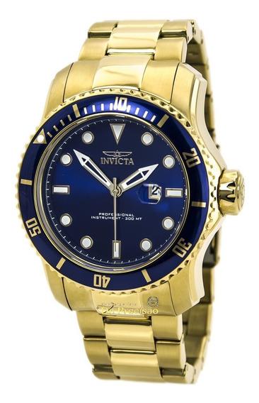 Relógio Invicta 15352 Pro Diver Scuba || Gold 53mm